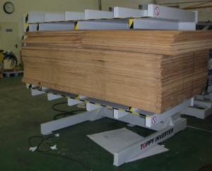 Custom Solutions Toppy America Pallet Exchanger Equipment