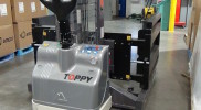 Toppy Side Grip Pallet Exchanger