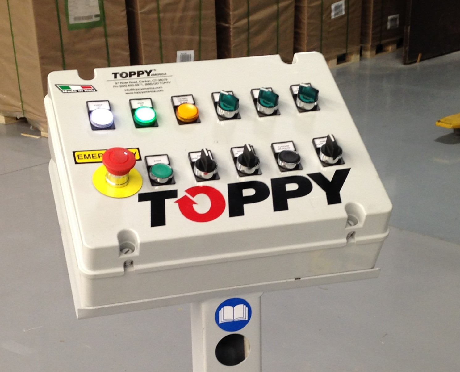 Twister Silver Control Panel